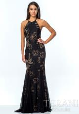 Terani 151P0168.  Available in Black/Nude, Ivory/Nude