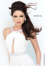 Sherri Hill 11202.  Available in Ivory/Nude