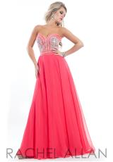 Rachel Allan Princess 2825.  Available in Watermelon, White