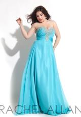 Rachel Allan 7014.  Available in Aqua, Cobalt
