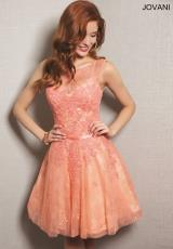 Jovani Cocktail 98310.  Available in Coral