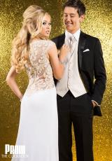 Tony Bowls Evenings CB1513.  Available in Black/Gold, White, White/Gold