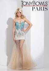 Tony Bowls Paris 115742.  Available in Champagne/Turquoise