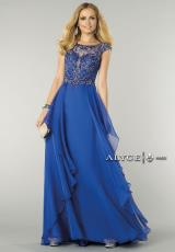 Alyce 6444.  Available in Blush, Royal, Spring Green