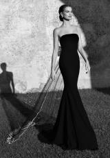 Tarik Ediz 92560.  Available in Black, Dark Indigo, Red