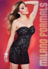 Milano Formals E1552.  Available in Black