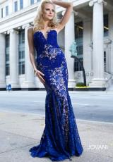 Jovani 23310.  Available in Royal/Nude