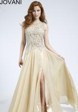 Jovani 89464.  Available in Light Gold