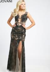 Jovani 94095.  Available in Black