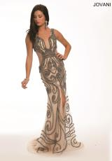 Jovani 12085.  Available in Grey