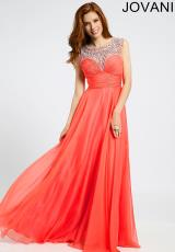 Jovani 21062.  Available in Coral, Light Blue