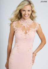 Jovani 99057.  Available in Blush, Navy