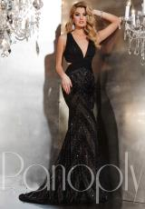 Panoply 14729.  Available in Black/Nude, White/Nude