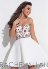 Rachel Allan 4068.  Available in Black, Red, White