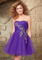 Mori Lee Sticks & Stones 9344.  Available in Deep Purple, Pink Panther