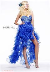 Sherri Hill 2415.  Available in Aqua, Fuchsia, Light Pink, Royal, White, Yellow