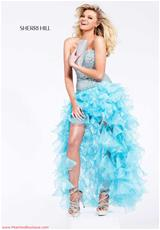 Sherri Hill 2463.  Available in Aqua/Silver, Black/Silver, Fuchsia/Fuchsia, Ivory/Gold, Lilac, Nude, Pink/Silver, Red/Red, Royal/Royal, Turquoise/Turquoise, White/Silver
