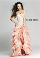 Sherri Hill 3848.  Available in Light Blue, Peach