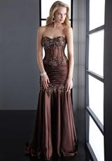 Jasz Couture 4515.  Available in Brown, Gold
