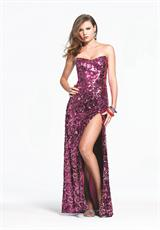 Faviana 6943.  Available in Fuchsia Sequin