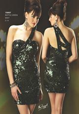 MacDuggal Cocktail 75993T.  Available in Bottle Green, Navy