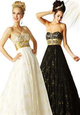 MacDuggal 76246H.  Available in Black/Gold, Ivory/Gold