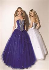 Mori Lee 91035SP.  Available in Black, Bubble, White