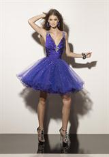 Mori Lee Sticks and Stones 9165.  Available in Deep Purple, Red Ribbon