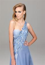 Evenings By Allure A532.  Available in Periwinkle, White