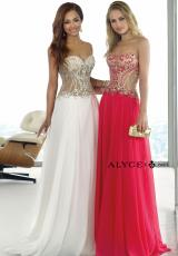Alyce 6363.  Available in Black, Periwinkle, Watermelon, White