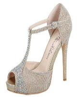 Blossom-Footwear Eternity-32.  Available in Black Sparkle, Nude Sparkle, Silver Sparkle