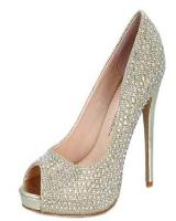 Blossom-Footwear Eternity-8.  Available in Gold Sparkle, Silver Sparkle