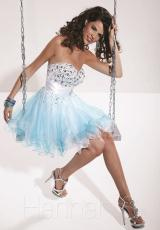 Hannah S 27782.  Available in Lilac/White, Turquoise/White