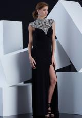 Jasz Couture 5363.  Available in Black, White