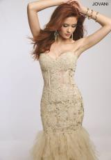 Jovani 1531.  Available in Aqua, Blush, Gold, Grey, Lilac, Navy, Orange, Red, Turquoise, White