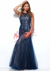MacDuggal 50187R.  Available in Black/Nude, Navy/Nude