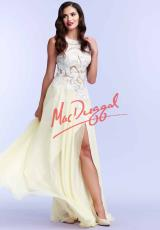MacDuggal Cocktail 85404M.  Available in Lemon, Pastel/Multi