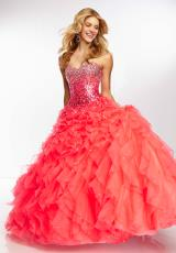 Mori Lee 95115.  Available in Deep Blue, Neon Pink