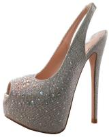 Blossom-Footwear Nelson-34.  Available in Nude Sparkle, Silver Sparkle