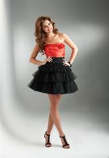 Flirt PF5015.  Available in Coral/Black, Mediterranean Teal/Black, Regal Purple/Black