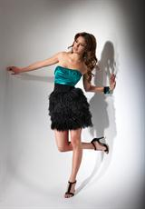 Flirt PF5016.  Available in Coral/Black, Mediterranean Teal/Black, Regal Purple/Black