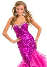 Party Time Dresses 6013.  Available in Fuchsia, Gold