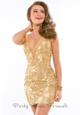 Rachel Allan 6307.  Available in Blue Slate/Nude, Gold, White/Nude