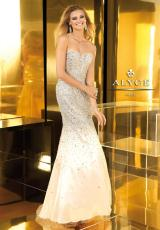 Alyce 2208.  Available in Black/Silver, Blue Radiance/Silver, Champagne, Pink/Silver