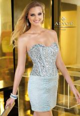 Alyce 2209.  Available in Light Gold, Light Turquoise