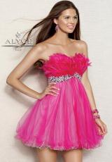Alyce 4305.  Available in Fuchsia, Lime/Aqua, Pink/White