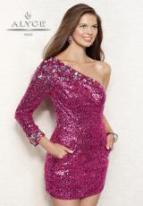 Alyce 4312.  Available in Envy, Fuchsia