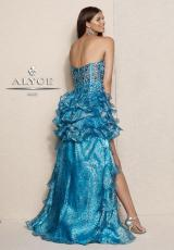 Alyce 6011.  Available in Purple, Turquoise
