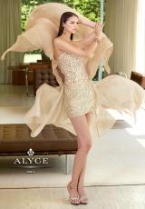 Alyce 6025.  Available in Black, Champagne