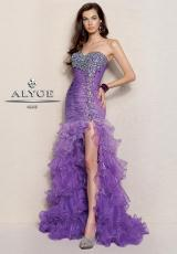Alyce 6037.  Available in Turquoise, Violet